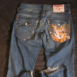True Religion Joey Blue Jeans - 32x33